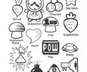 Coloriage dessin  Nintendo 14