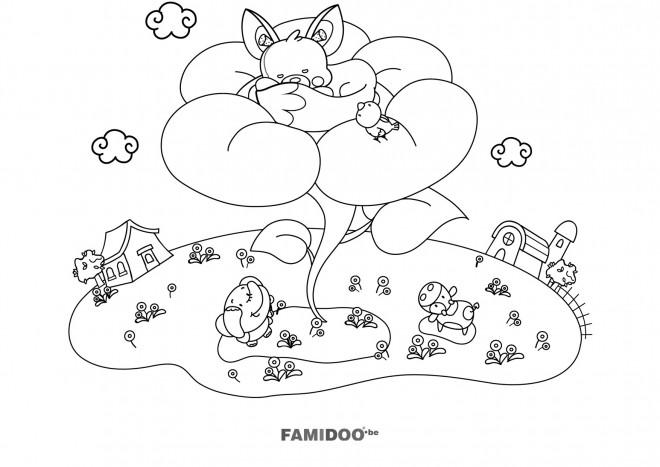 Coloriage et dessins gratuits Nintendo en couleur à imprimer
