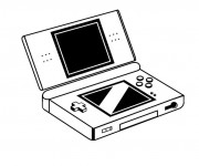 Coloriage Nintendo Gameboy