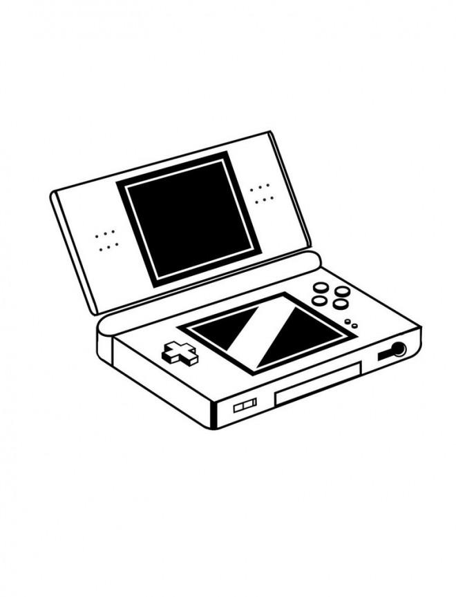 Coloriage et dessins gratuits Nintendo Gameboy à imprimer