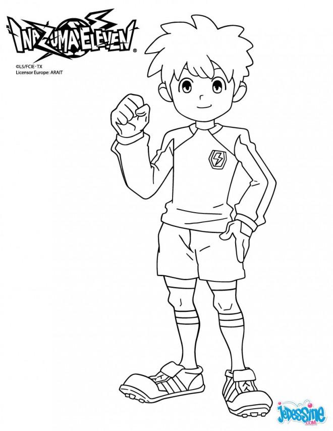 Coloriage et dessins gratuits Nintendo Inazuma Eleven à imprimer