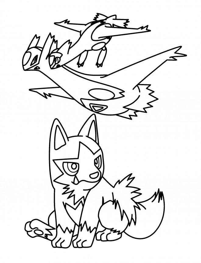 Coloriage et dessins gratuits Nintendo Pokémon à colorier à imprimer