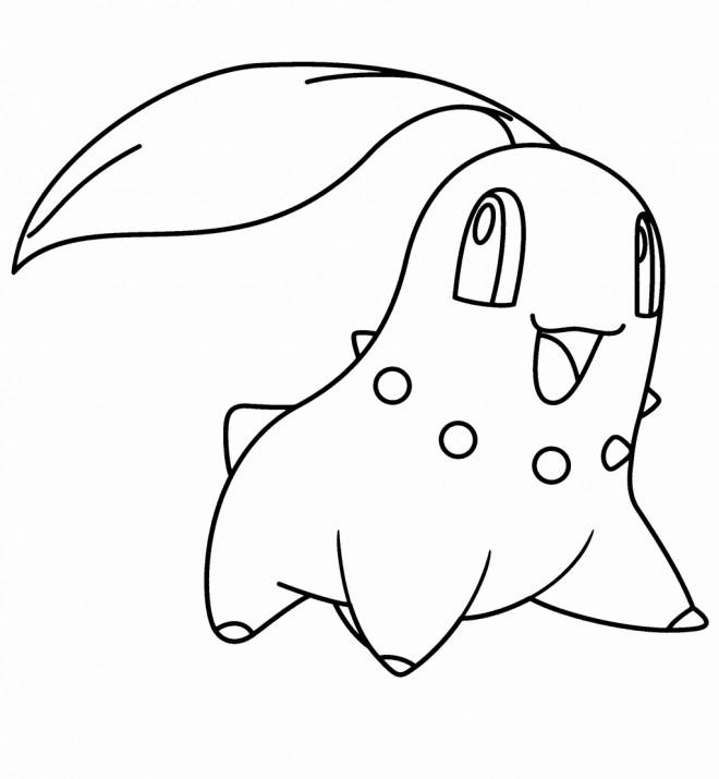 Coloriage et dessins gratuits Nintendo Pokémon Personnage à imprimer