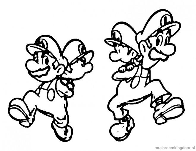 Coloriage et dessins gratuits Nintendo Super Mario à imprimer