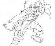 Coloriage et dessins gratuit Nintendo Zelda à imprimer