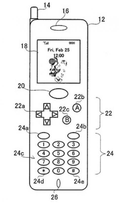 Coloriage et dessins gratuits vieux Nintendo Gameboy à imprimer
