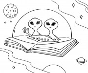 Coloriage Extraterrestre 60