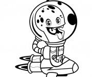 Coloriage Extraterrestre qui fait rire