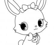 Coloriage et dessins gratuit Kilari Jewelpet en couleur à imprimer