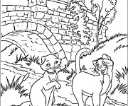 Coloriage et dessins gratuit Duchesse et Thomas à imprimer