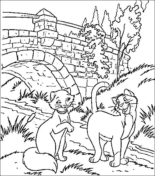 Coloriage et dessins gratuits Duchesse et Thomas à imprimer
