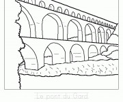 Coloriage dessin  Pont 14