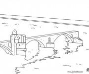 Coloriage dessin  Pont 7