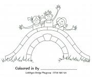 Coloriage dessin  Pont 8