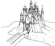 Coloriage et dessins gratuit Pont de Château à imprimer