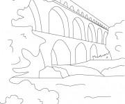 Coloriage et dessins gratuit Pont en ligne à imprimer