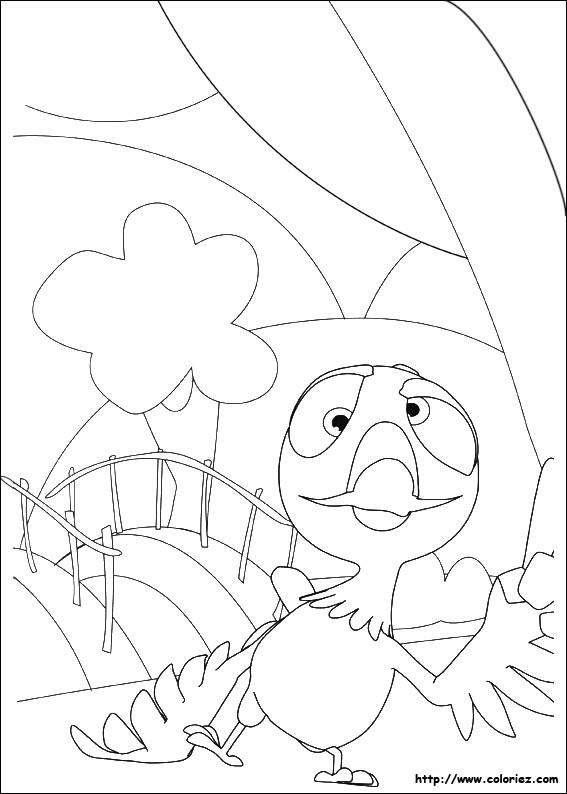 Coloriage et dessins gratuits Pont facile pour les Petits à imprimer