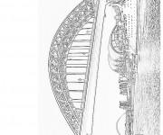 Coloriage et dessins gratuit Pont réaliste à imprimer