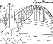Coloriage Pont Sidney