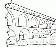 Coloriage et dessins gratuit Pont simple à imprimer