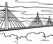 Coloriage Un Pont populaire