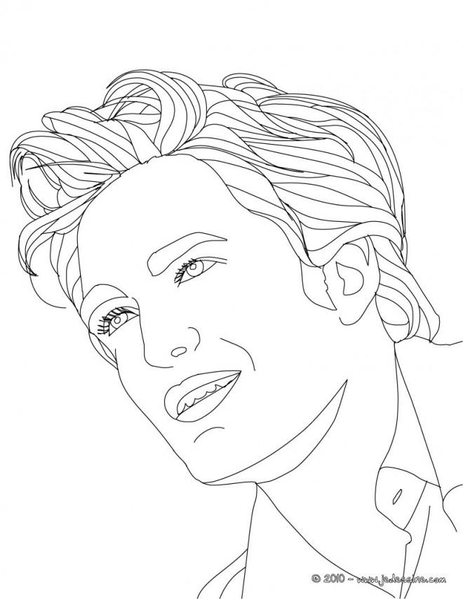 Coloriage et dessins gratuits Portrait Acteur à imprimer