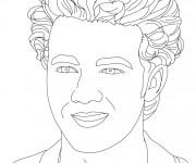 Coloriage Portrait au crayon