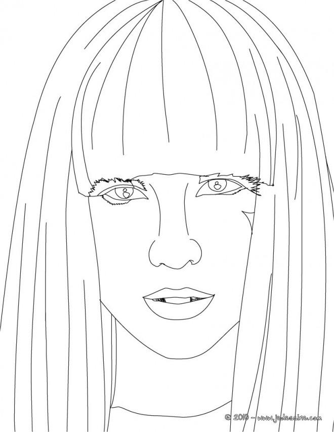 Coloriage et dessins gratuits Portrait Célébrité en couleur à imprimer