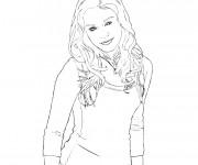 Coloriage Portrait Célébrité en ligne
