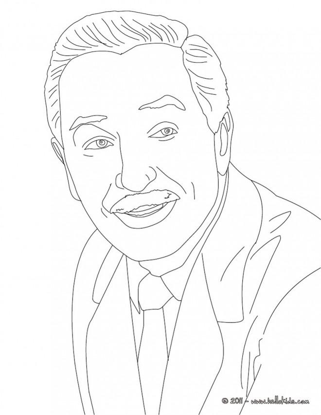 Coloriage et dessins gratuits Portrait Célébrité pour adulte à imprimer