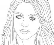 Coloriage et dessins gratuit Portrait Célébrités à imprimer