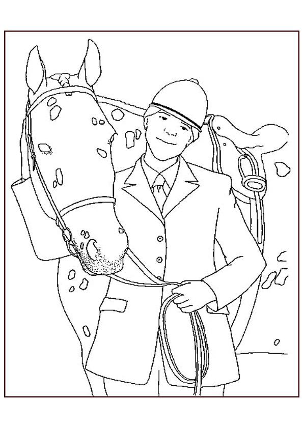 Coloriage et dessins gratuits Portrait d'un chevalier à imprimer
