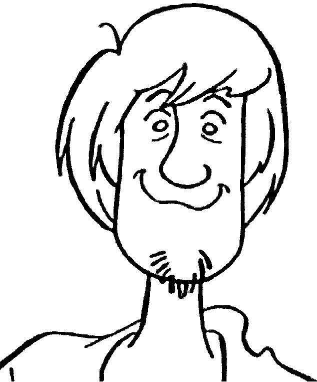Coloriage et dessins gratuits Portrait d'un Homme souriant à imprimer