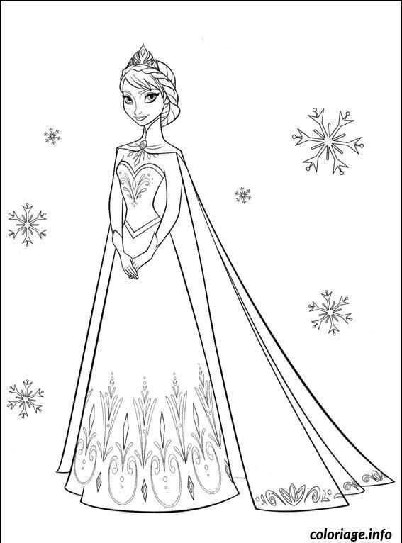 Coloriage Portrait De Princesse Disney Dessin Gratuit A Imprimer