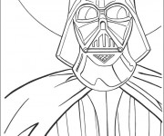 Coloriage Portrait de Star Wars