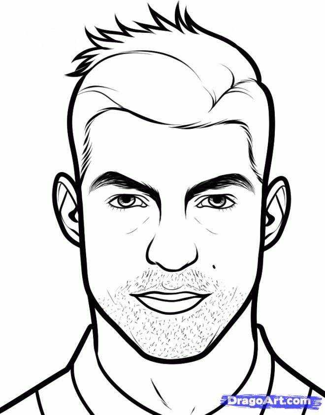 Coloriage et dessins gratuits Portrait Dessin Animé à imprimer