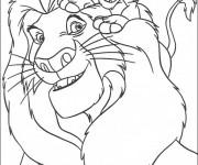 Coloriage Portrait Dessin Animé Disney