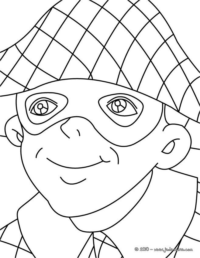 Coloriage et dessins gratuits Portrait pour se détendre à imprimer