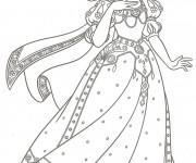 Coloriage dessin  Princesse blanche neige