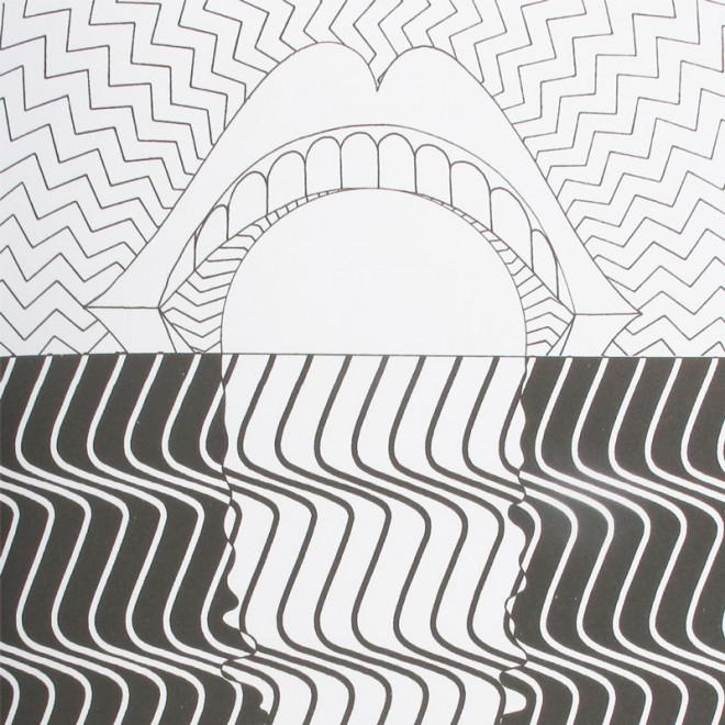 Coloriage et dessins gratuits Psychédélique La Bouche à imprimer