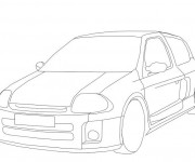 Coloriage dessin  Voiture Tuning 43