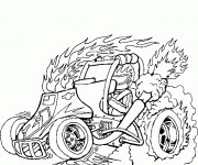 Coloriage dessin  Voiture Tuning 9