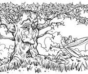 Coloriage et dessins gratuit Arbres 52 à imprimer