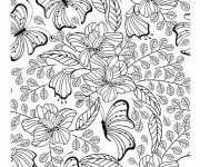 Coloriage Inspiration Zen adulte