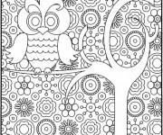 Coloriage et dessins gratuit Klimt relaxant à imprimer