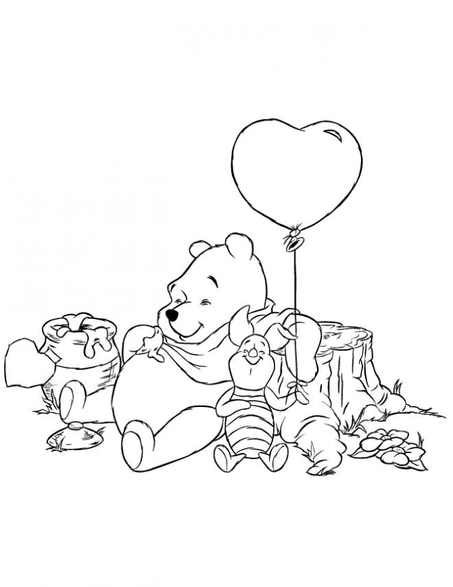 Coloriage et dessins gratuits L'ours se repose à imprimer
