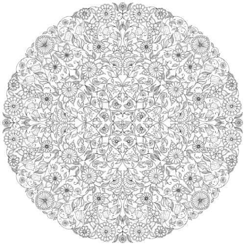 Coloriage et dessins gratuits Mandala Anti-Stress complexe à imprimer