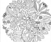 Coloriage et dessins gratuit Mandala pour se détendre à imprimer
