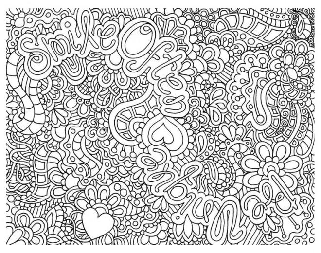 Coloriage et dessins gratuits Relaxant adulte à imprimer