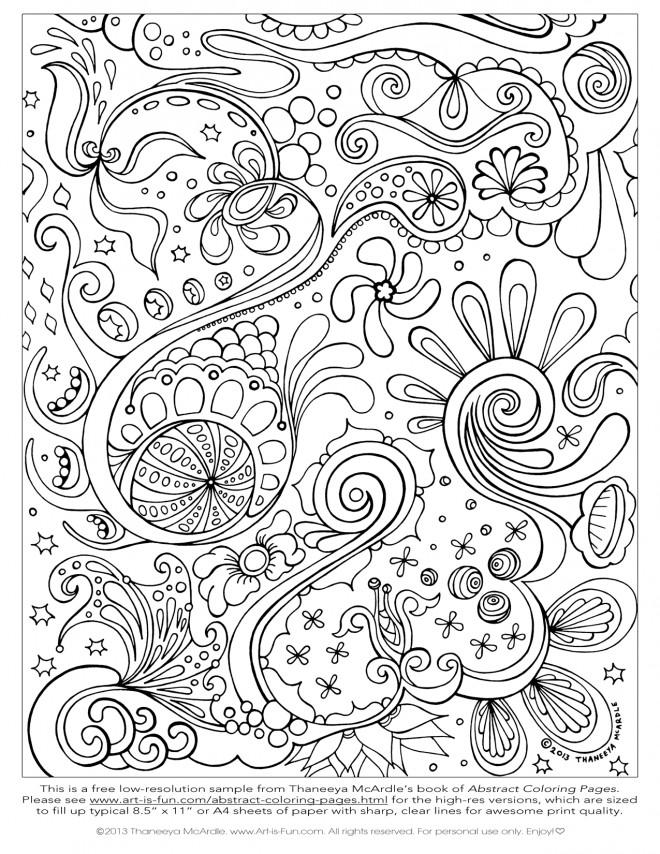 Coloriage et dessins gratuits Relaxant Peinture à imprimer